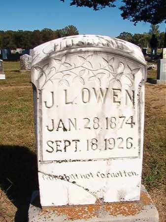 OWEN, J L - Lonoke County, Arkansas | J L OWEN - Arkansas Gravestone Photos