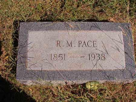 PACE, R M - Lonoke County, Arkansas | R M PACE - Arkansas Gravestone Photos