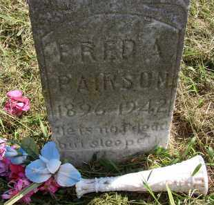 PAIRSON, FRED A. - Lonoke County, Arkansas | FRED A. PAIRSON - Arkansas Gravestone Photos