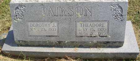 PAIRSON, THEADORE - Lonoke County, Arkansas | THEADORE PAIRSON - Arkansas Gravestone Photos