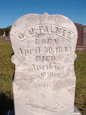 PALMER, G J - Lonoke County, Arkansas | G J PALMER - Arkansas Gravestone Photos