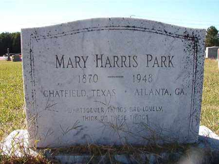 HARRIS PARK, MARY - Lonoke County, Arkansas | MARY HARRIS PARK - Arkansas Gravestone Photos