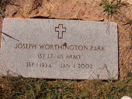 PARK (VETERAN), JOSEPH WORTHINGTON - Lonoke County, Arkansas | JOSEPH WORTHINGTON PARK (VETERAN) - Arkansas Gravestone Photos