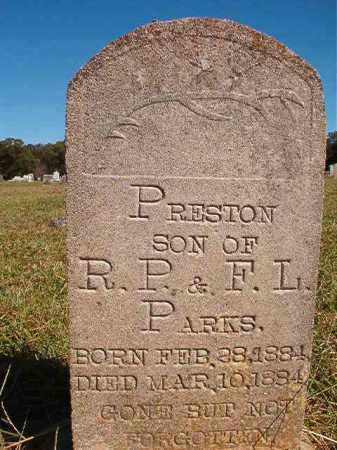 PARKS, PRESTON - Lonoke County, Arkansas | PRESTON PARKS - Arkansas Gravestone Photos