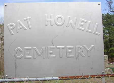 *PAT HOWELL CEMETERY,  - Lonoke County, Arkansas |  *PAT HOWELL CEMETERY - Arkansas Gravestone Photos