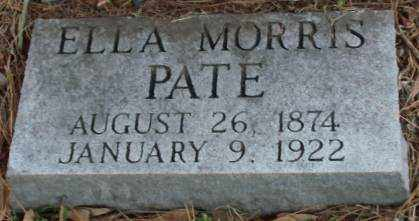PATE, ELLA - Lonoke County, Arkansas | ELLA PATE - Arkansas Gravestone Photos