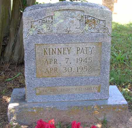 PATY, KINNEY - Lonoke County, Arkansas | KINNEY PATY - Arkansas Gravestone Photos