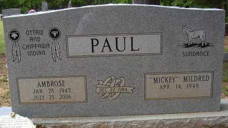 PAUL, AMBROSE - Lonoke County, Arkansas | AMBROSE PAUL - Arkansas Gravestone Photos