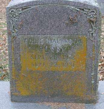 PERRY, WILLIS HALBROOK - Lonoke County, Arkansas   WILLIS HALBROOK PERRY - Arkansas Gravestone Photos