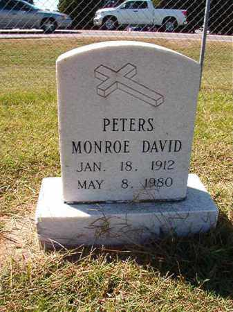 PETERS, MONROE DAVID - Lonoke County, Arkansas | MONROE DAVID PETERS - Arkansas Gravestone Photos