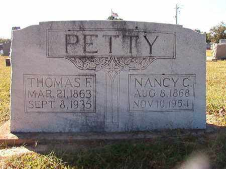 PETTY, THOMAS F - Lonoke County, Arkansas | THOMAS F PETTY - Arkansas Gravestone Photos