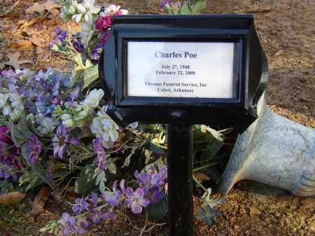 POE, CHARLES - Lonoke County, Arkansas | CHARLES POE - Arkansas Gravestone Photos