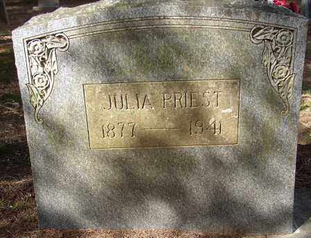 PRIEST, JULIA - Lonoke County, Arkansas | JULIA PRIEST - Arkansas Gravestone Photos