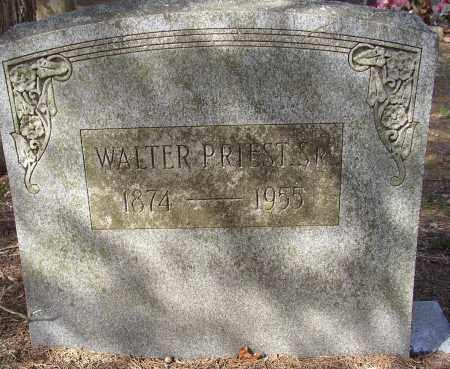 PRIEST, SR., WALTER - Lonoke County, Arkansas | WALTER PRIEST, SR. - Arkansas Gravestone Photos