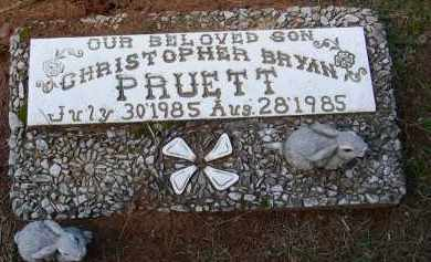 PRUETT, CHRISTOPHER BRYAN - Lonoke County, Arkansas | CHRISTOPHER BRYAN PRUETT - Arkansas Gravestone Photos