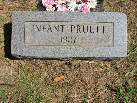 PRUETT, INFANT - Lonoke County, Arkansas | INFANT PRUETT - Arkansas Gravestone Photos