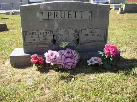 PRUETT, LOUISE - Lonoke County, Arkansas | LOUISE PRUETT - Arkansas Gravestone Photos