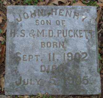 PUCKETT, JOHN HENRY - Lonoke County, Arkansas | JOHN HENRY PUCKETT - Arkansas Gravestone Photos