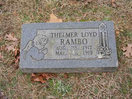 RAMBO, THELMER LOYD - Lonoke County, Arkansas | THELMER LOYD RAMBO - Arkansas Gravestone Photos