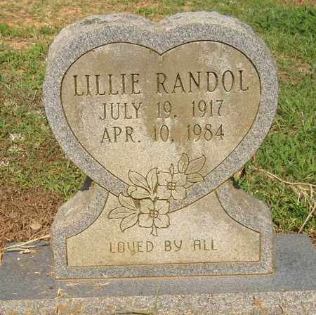 RANDOL, LILLIE - Lonoke County, Arkansas | LILLIE RANDOL - Arkansas Gravestone Photos