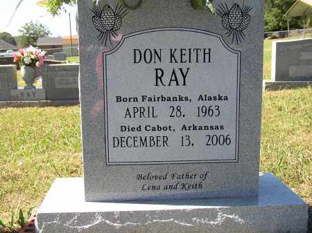 RAY, DON KEITH - Lonoke County, Arkansas | DON KEITH RAY - Arkansas Gravestone Photos