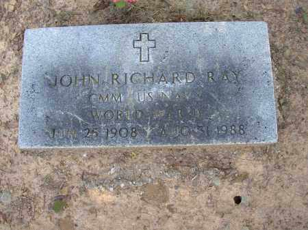 RAY (VETERAN WWII), JOHN RICHARD - Lonoke County, Arkansas | JOHN RICHARD RAY (VETERAN WWII) - Arkansas Gravestone Photos
