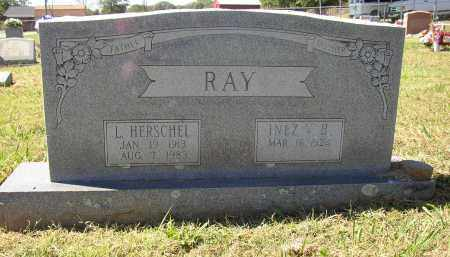 RAY, L. HERSCHEL - Lonoke County, Arkansas | L. HERSCHEL RAY - Arkansas Gravestone Photos