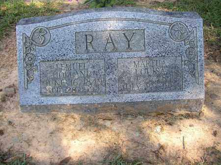 RAY, MARTHA LOUISA - Lonoke County, Arkansas | MARTHA LOUISA RAY - Arkansas Gravestone Photos