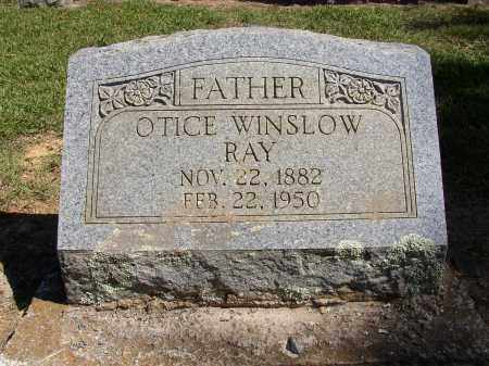 RAY, OTICE WINSLOW - Lonoke County, Arkansas | OTICE WINSLOW RAY - Arkansas Gravestone Photos