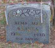 REAVES, ALMA MAE - Lonoke County, Arkansas | ALMA MAE REAVES - Arkansas Gravestone Photos