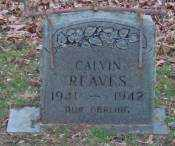 REAVES, CALVIN - Lonoke County, Arkansas | CALVIN REAVES - Arkansas Gravestone Photos