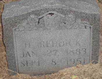 REDDICK, H - Lonoke County, Arkansas | H REDDICK - Arkansas Gravestone Photos