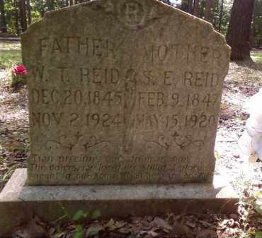 REID, W  T - Lonoke County, Arkansas | W  T REID - Arkansas Gravestone Photos