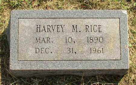RICE, HARVEY M. - Lonoke County, Arkansas | HARVEY M. RICE - Arkansas Gravestone Photos