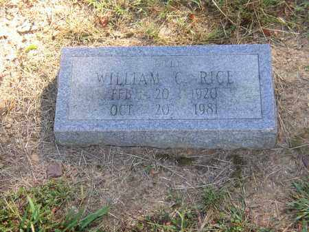 "RICE, WILLIAM ""BILL"" C. - Lonoke County, Arkansas 