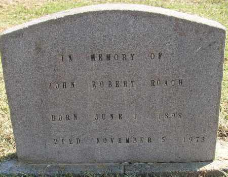 ROACH, JOHN ROBERT - Lonoke County, Arkansas | JOHN ROBERT ROACH - Arkansas Gravestone Photos