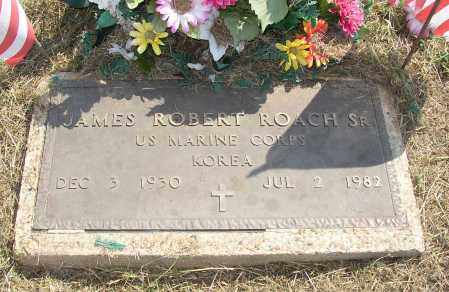 ROACH, SR  (VETERAN KOR), JAMES ROBERT - Lonoke County, Arkansas | JAMES ROBERT ROACH, SR  (VETERAN KOR) - Arkansas Gravestone Photos