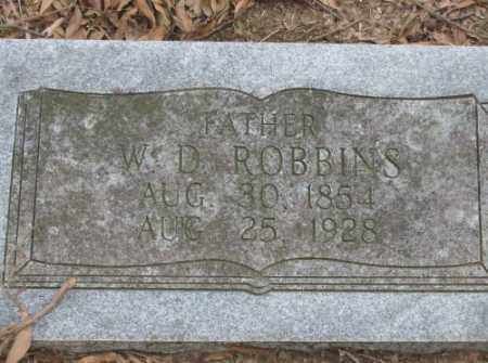 ROBBINS, W  D - Lonoke County, Arkansas | W  D ROBBINS - Arkansas Gravestone Photos