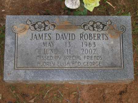 ROBERTS, JAMES DAVID - Lonoke County, Arkansas | JAMES DAVID ROBERTS - Arkansas Gravestone Photos