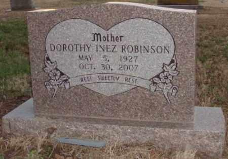 ROBINSON, DOROTHY INEZ - Lonoke County, Arkansas | DOROTHY INEZ ROBINSON - Arkansas Gravestone Photos
