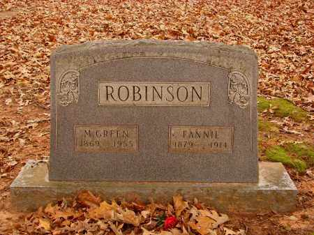 ROBINSON, MOSES GREEN - Lonoke County, Arkansas | MOSES GREEN ROBINSON - Arkansas Gravestone Photos