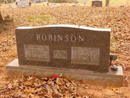 ROBINSON, MILTON GUINNE - Lonoke County, Arkansas | MILTON GUINNE ROBINSON - Arkansas Gravestone Photos