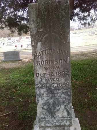 ROBINSON, MATILDA JANE - Lonoke County, Arkansas | MATILDA JANE ROBINSON - Arkansas Gravestone Photos