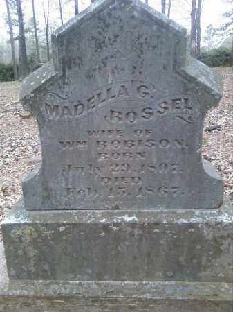ROSSEL ROBISON, MADELLA G. - Lonoke County, Arkansas | MADELLA G. ROSSEL ROBISON - Arkansas Gravestone Photos