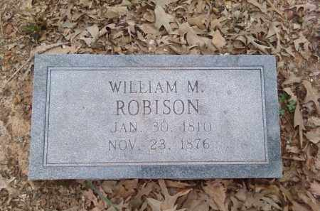 ROBISON, WILLIAM M. - Lonoke County, Arkansas | WILLIAM M. ROBISON - Arkansas Gravestone Photos