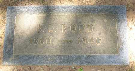 ROOD, B. L. - Lonoke County, Arkansas | B. L. ROOD - Arkansas Gravestone Photos