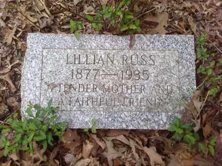 ROSS, LILLIAN - Lonoke County, Arkansas | LILLIAN ROSS - Arkansas Gravestone Photos