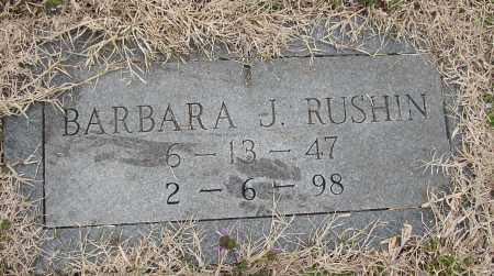 RUSHIN, BARBARA J. - Lonoke County, Arkansas | BARBARA J. RUSHIN - Arkansas Gravestone Photos
