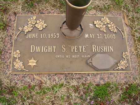 "RUSHIN, DWIGHT S. ""PETE"" - Lonoke County, Arkansas 