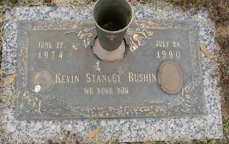 RUSHIN, KEVIN STANLEY - Lonoke County, Arkansas | KEVIN STANLEY RUSHIN - Arkansas Gravestone Photos